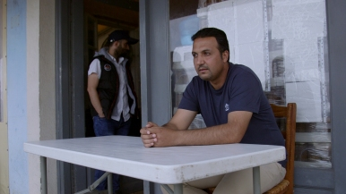 Salem Karazon, a Syrian refugee who has been denied asylum and is appealing the decision.